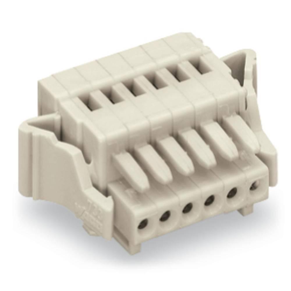 Tilslutningskabinet-kabel 733 Samlet antal poler 8 WAGO 733-108/033-047 Rastermål: 2.50 mm 100 stk
