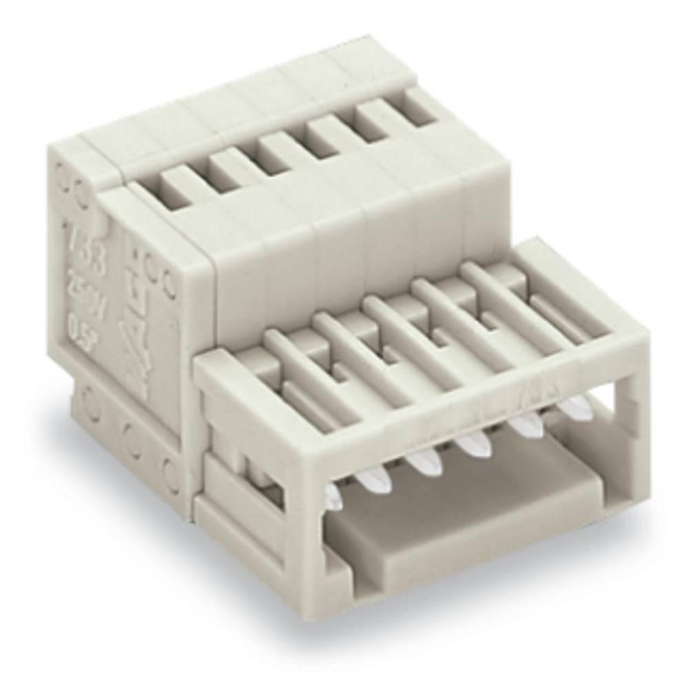 Pinski konektor (standarden) WAGO 733-206, mere: 2.50 mm 100 kosov