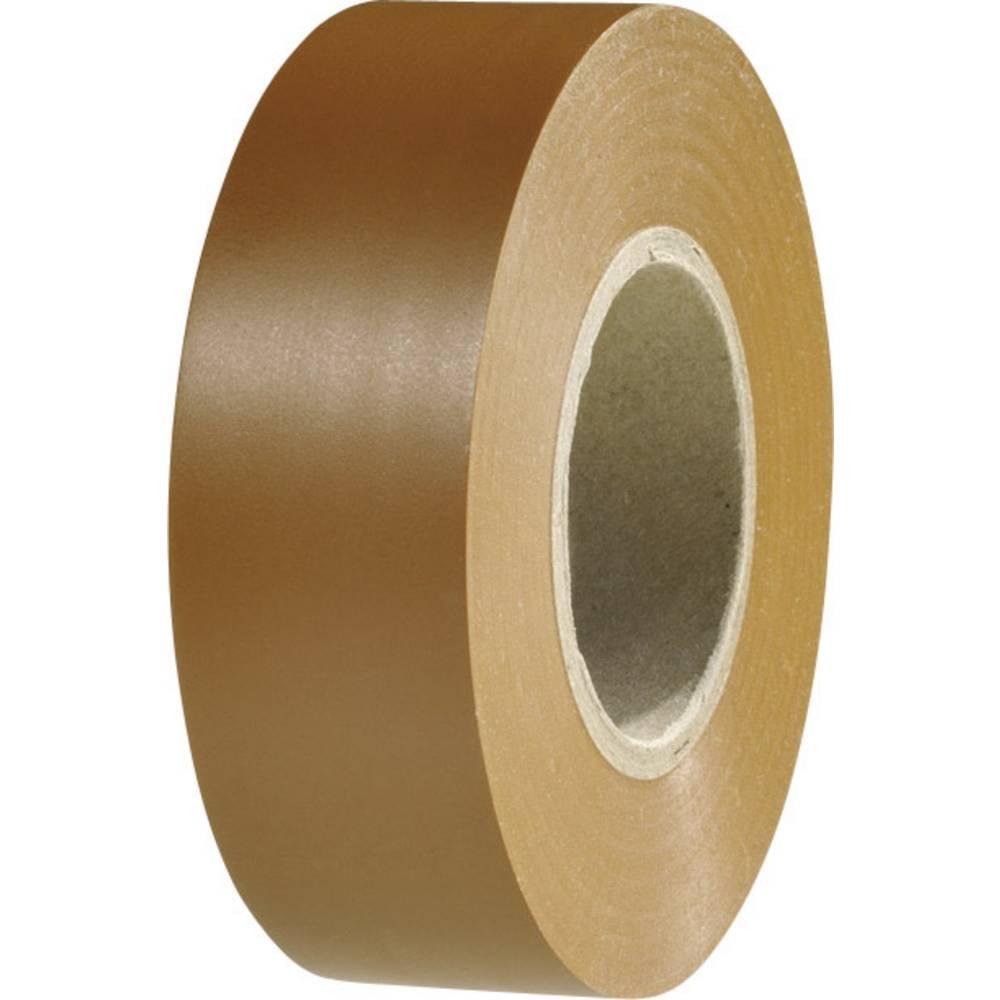 Izolacijska traka HelaTape Flex 1000+ smeđe boje (D x Š) 20 m x 19 mm HellermannTyton 710-10608 1 rola