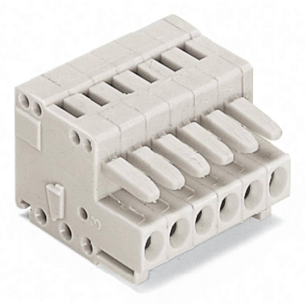 Tilslutningskabinet-kabel 734 (value.1360959) Samlet antal poler 10 WAGO 734-110 Rastermål: 3.50 mm 50 stk