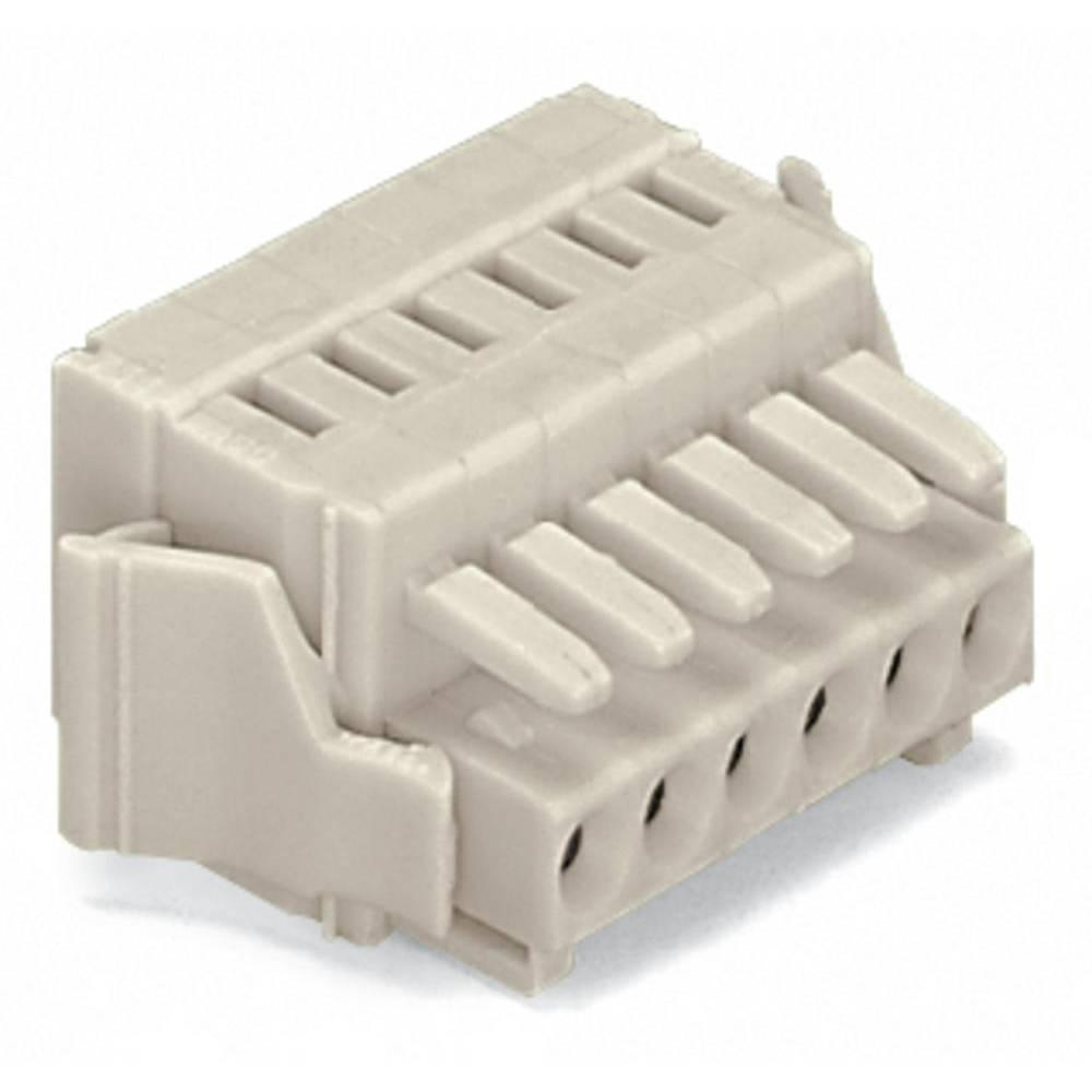 Tilslutningskabinet-kabel 734 (value.1360959) Samlet antal poler 18 WAGO 734-118/037-000/036-000 Rastermål: 3.50 mm 25 stk