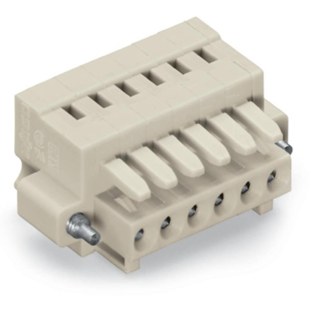 Tilslutningskabinet-kabel 734 (value.1360959) Samlet antal poler 9 WAGO 734-109/107-000 Rastermål: 3.50 mm 50 stk