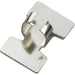 Pritrdilna objemka, samolepilna, srebrne barve TRU COMPONENTS 543638 1 kos