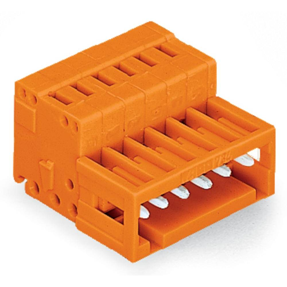 Pinski konektor (standarden) WAGO 734-342, mere: 3.81 mm 50 kosov