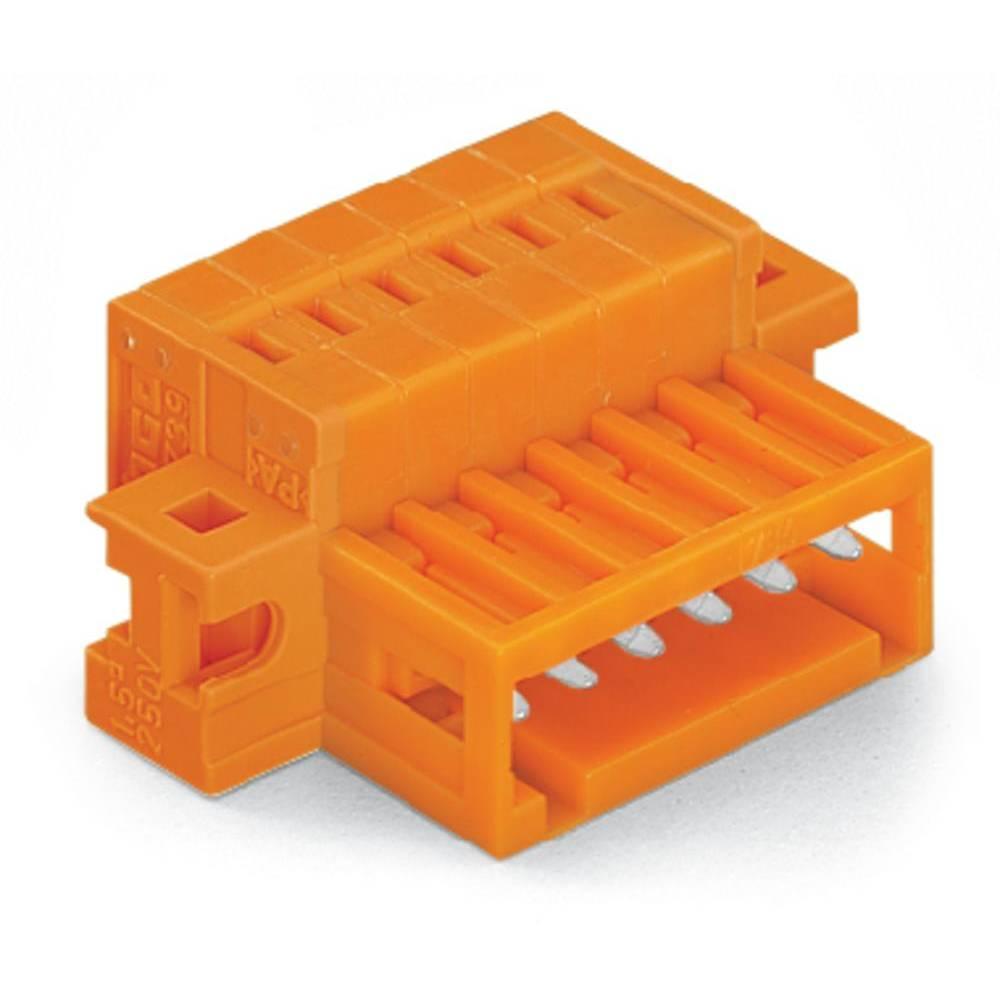 Pinski konektor (standarden) WAGO 734-340/019-000, mere: 3.81 mm 50 kosov