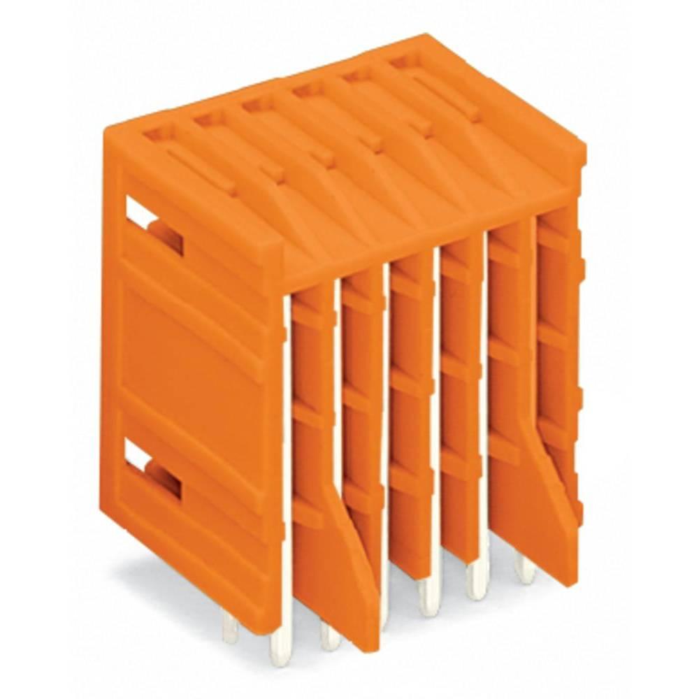 Stiftliste (standard) 2140 (value.1360462) Samlet antal poler 10 WAGO 734-435/001-000 Rastermål: 3.81 mm 100 stk