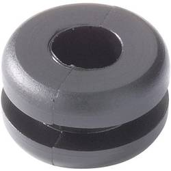 Kabelska uvodnica, promjer sponke (maks.) 6.5 mm PVC crne boje HellermannTyton HV1502-PVC-BK-N1 1 kom