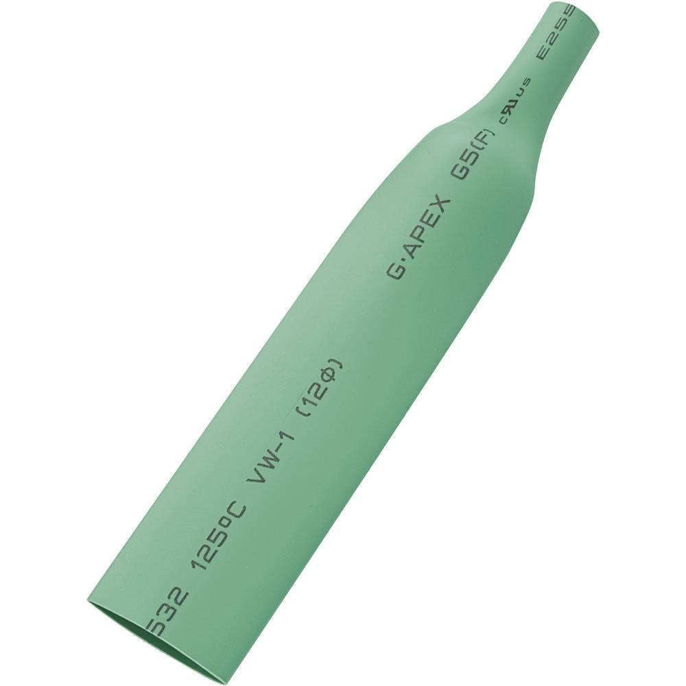 Skrčljiva cevka brez vročega lepila v dozirniku, 2 : 1, zelena, 5 m 28531c66