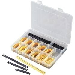 Priponka za označevanje kablov, natisnjen simbol 0 - 9, L, N, R, S, T, +, - zunanji premer razpona 2 do 5 mm 545005 ECMKS-3 TRU