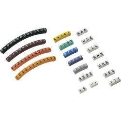 Märkningsclip Tryck 0 - 9 , A , E , L , N , R , S, T , - , + Ytterdiameter-område 2 till 5 mm 545010 ECMKP-2 Conrad Components
