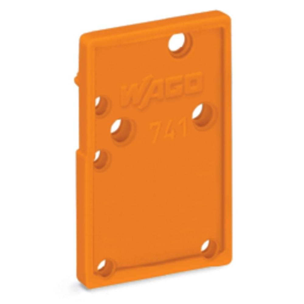 Afslutningsplade WAGO Orange 100 stk