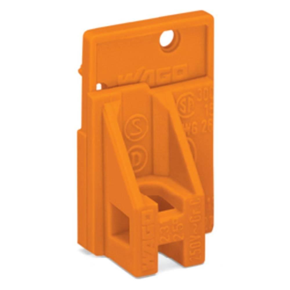 Afslutningsplade WAGO Orange 600 stk