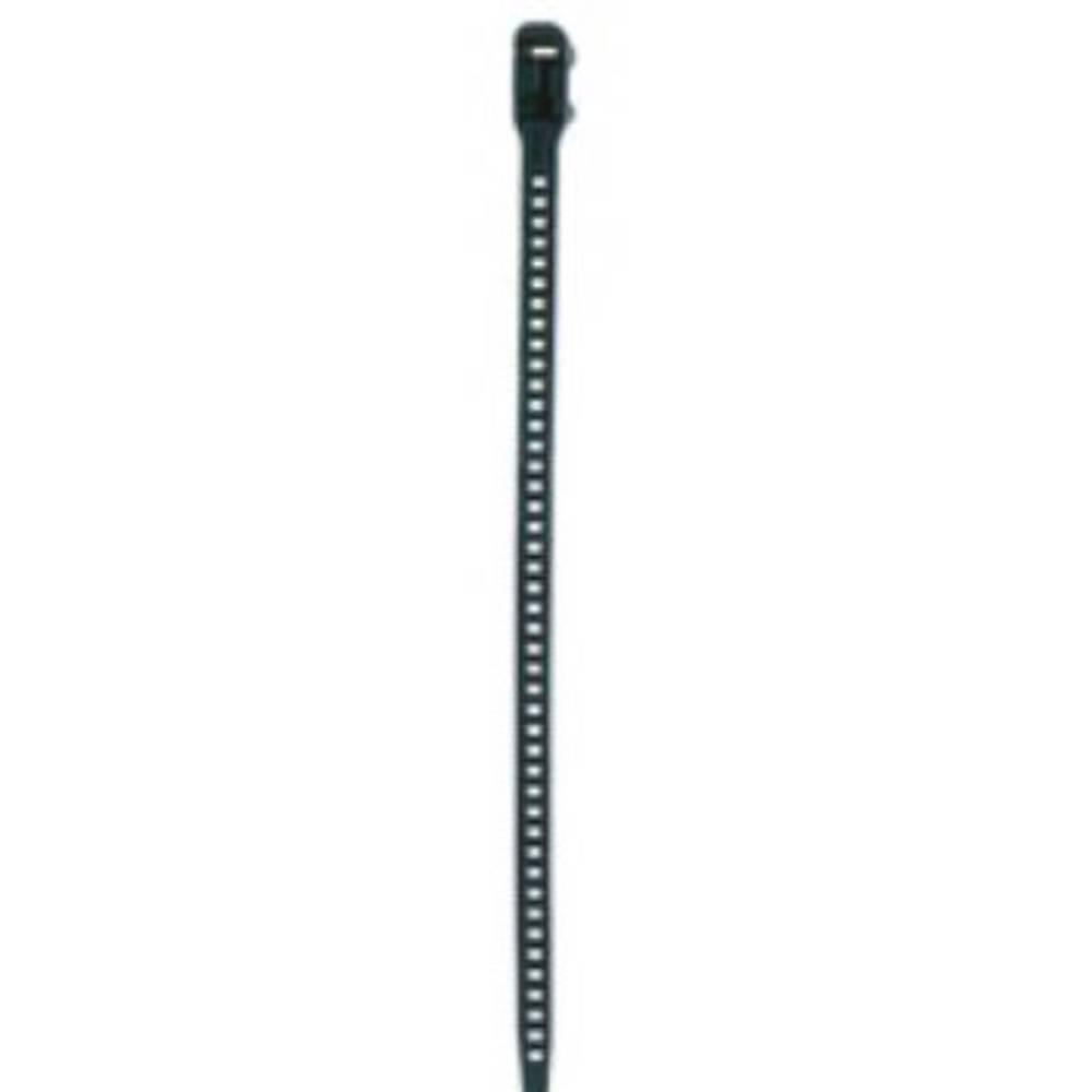 Kabelske vezice 260 mm črne barve, odvezljive, temperaturno stabilna, UV-stabilno, zelo fleksibilne,HellermannTyton 115-11270 SO