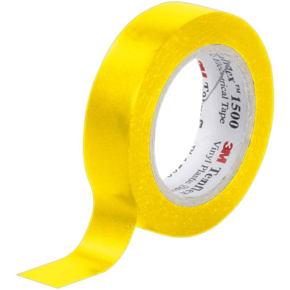 PVC Elektroizolacijska traka (D x Š) 10 m x 15 mm žuta 3M Temflex 1500 sadržaj: 1 rola