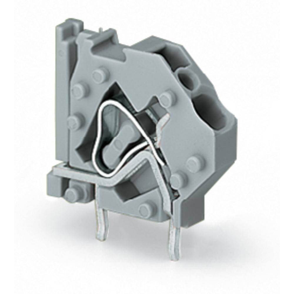 Fjederkraftsklemmeblok WAGO 4.00 mm² Poltal 1 Lysegrøn 200 stk