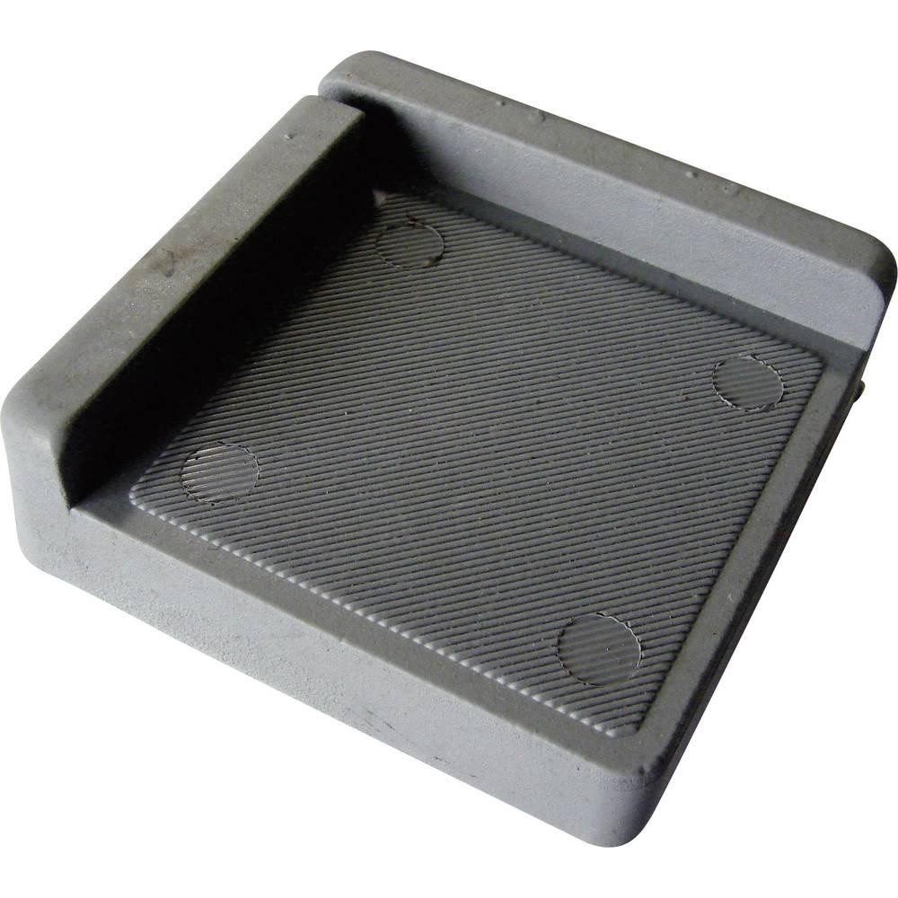 PB Fastener-Ublaživač, (A x B) 75x73mm, NBR siv 121845