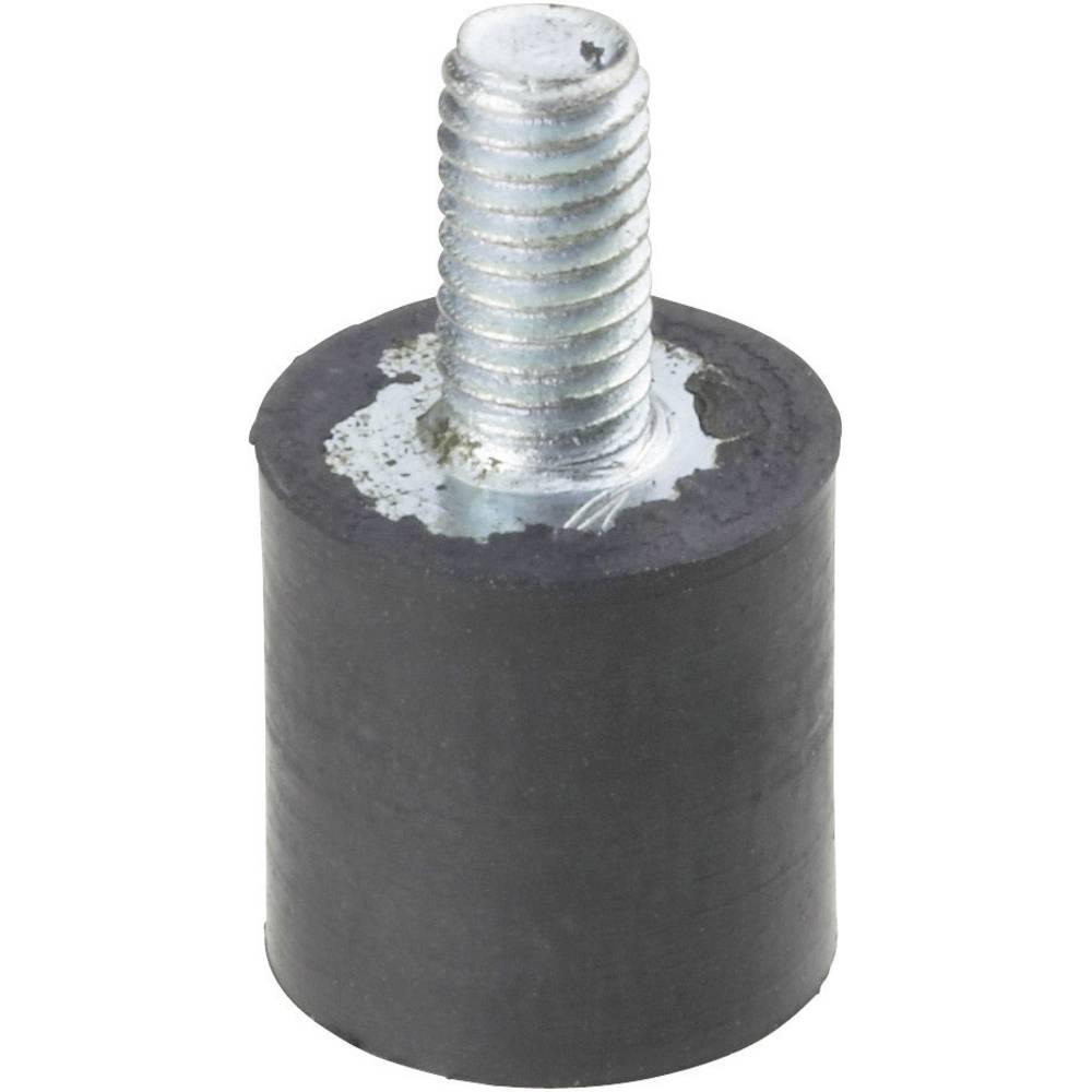 PB Fastener-Navojni ublaživač 111435, crn
