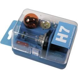 Rezervne žarnice v škatli Unitec, H7, 12 V, 1 kos, prozorne