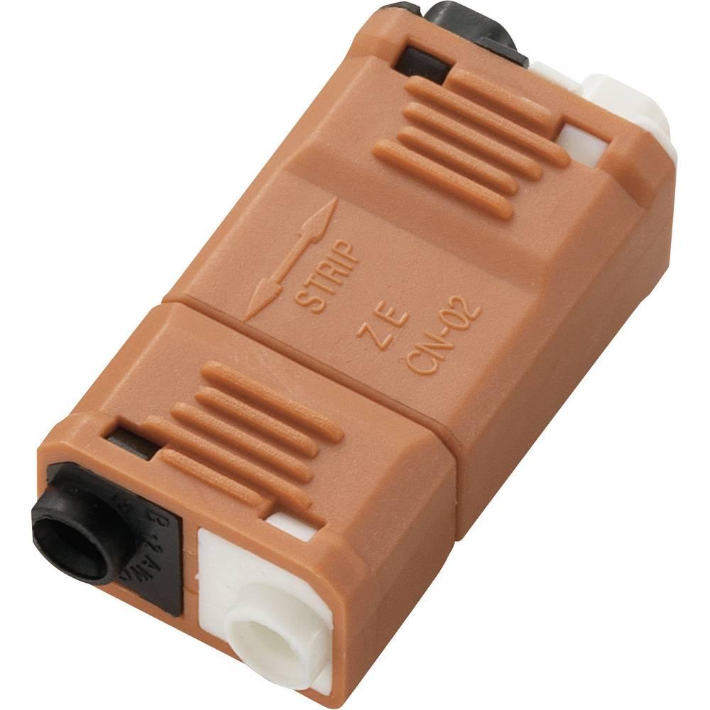 Spojnica za slabu struju fleksibilna: - kruta: 0.824-3.307 mm broj polova: 2 1 kom. narančasta