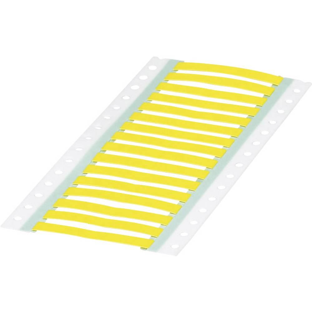 Etikete za skrčljive cevi, montaža: vstavljanje, površina: 60 x 9 mm rumene barve Phoenix Contact WMS 4,8 (60X9)R YE 0800400 št.