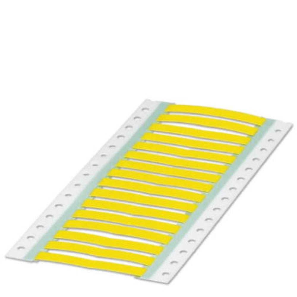 Etikete za skrčljive cevi, montaža: vstavljanje, površina: 30 x 4 mm rumene barve Phoenix Contact WMS 2,4 (30X4)R YE 0800407 št.