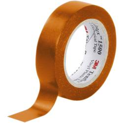 Isoleringstejp Temflex 1500 Orange (LxB) 10 m x 15 mm 3M FE-5100-8939-7 1 rullar