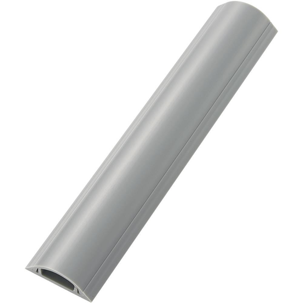 Toga samolepilna talna zaščita za kable (D x Š x V) 100 x 3.85 x 1.15 cm sive barve KSS vsebuje: 1 kos