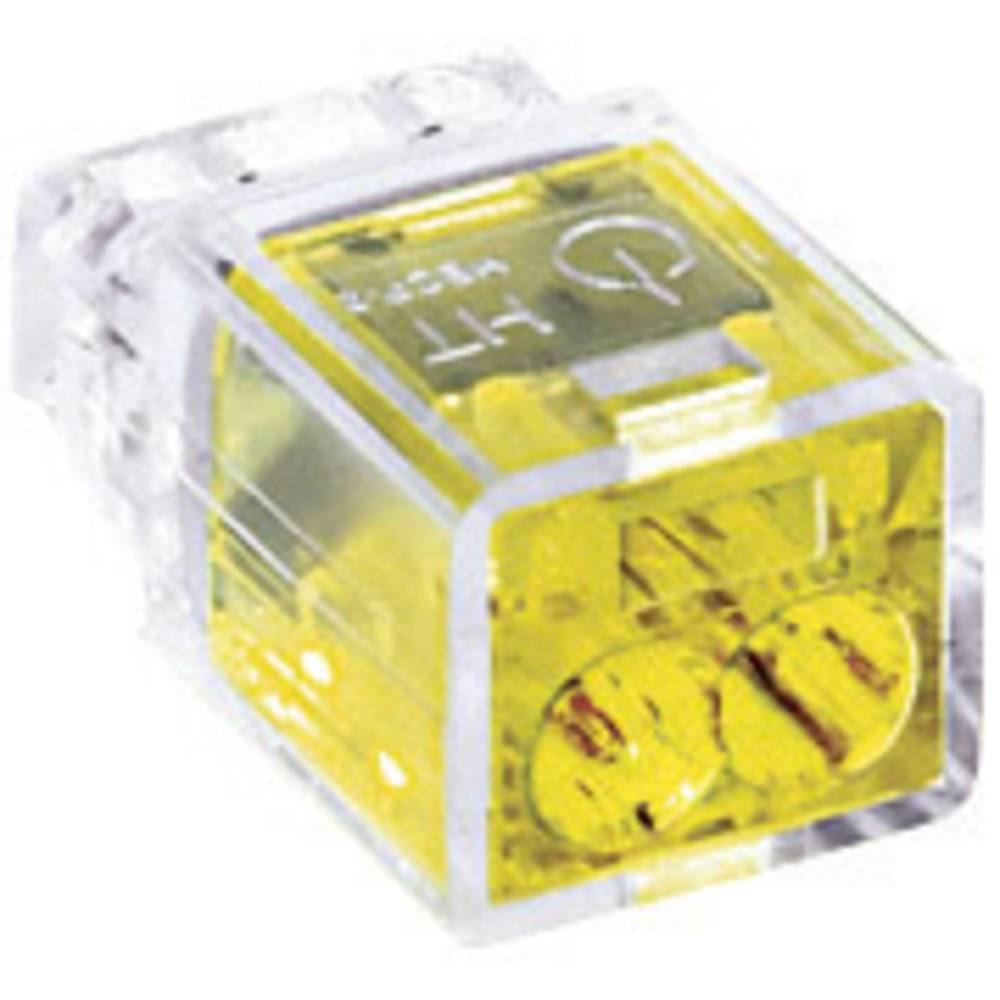Povezovalna sponka HellermannTyton HelaCon Plus, prečni prerez: 0,5-2,5 mm2, 24 V, rumena 148-90000