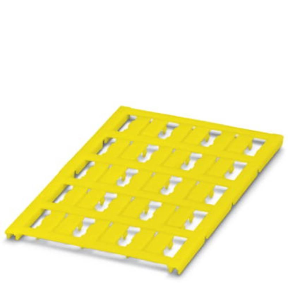 Označevalnik kablov, montaža: pripenjanje, površina: 15 x 5.50 mm primeren za serijo posamezne žice, rumene barve Phoenix Contac