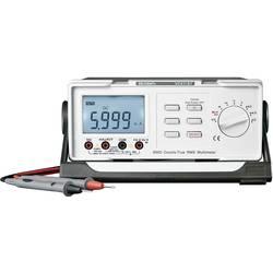 Stolni multimetar digitalni VOLTCRAFT VC611BT kalibriran prema: tvorničkom standardu CAT II 600 V prikaz (brojenja): 6000