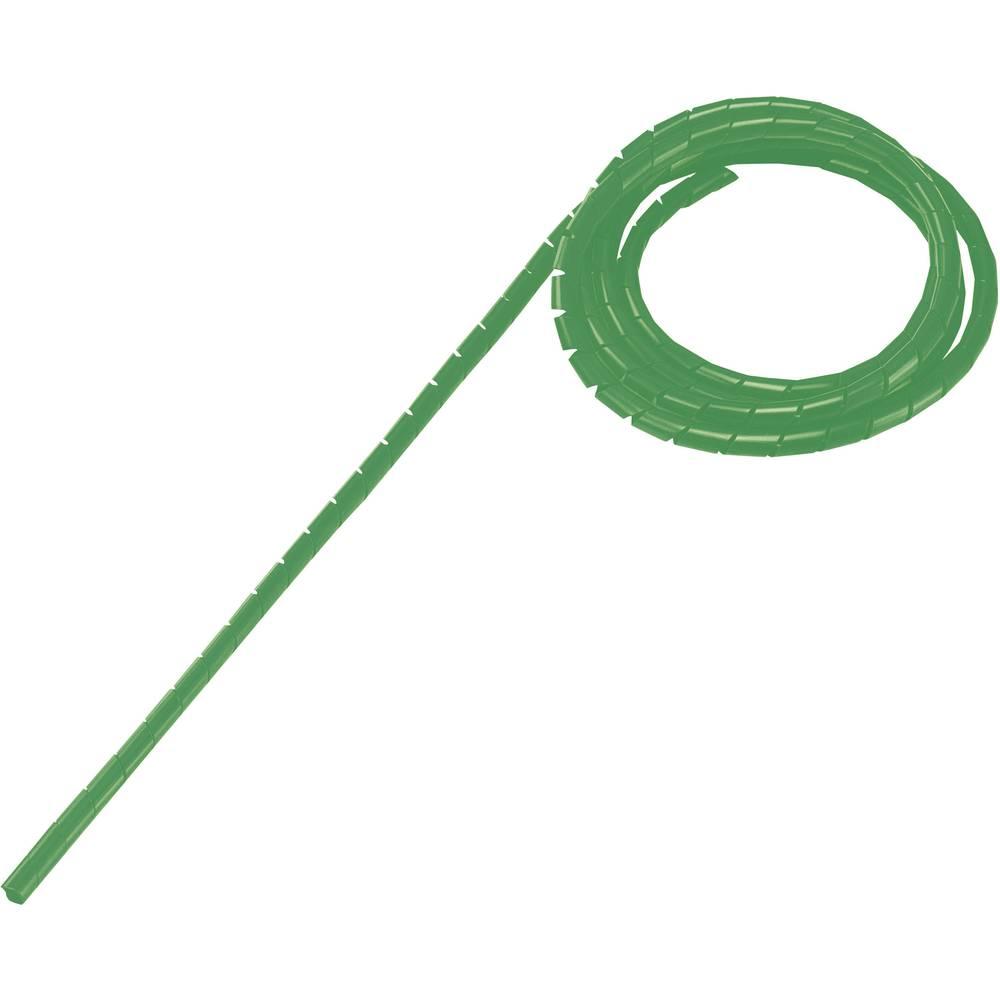 Spiralna cev, pakirana, snop-: 9 - 65 mm zelena WB-1012 Conrad vsebina: 5 m