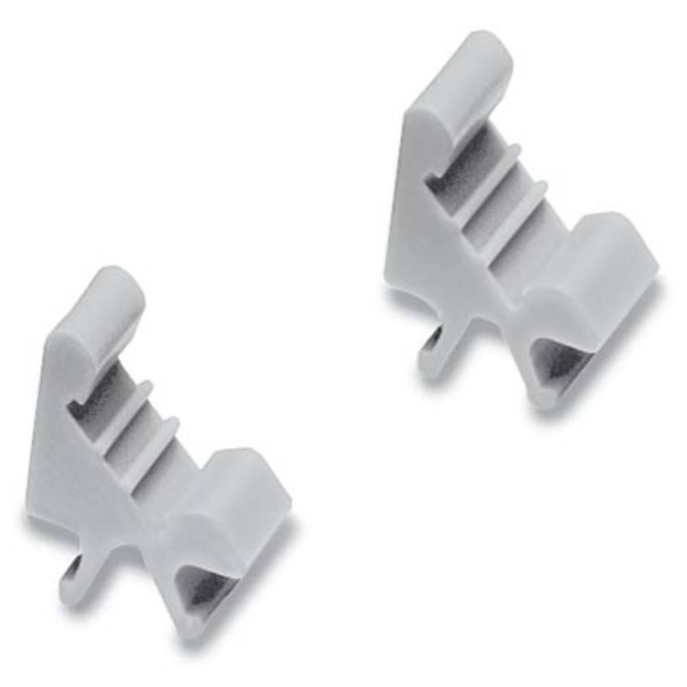Nosilec oznak, montaža: pripenjanje, primeren za serijo Phoenix Contact ZB 5 sive barve Phoenix Contact SAD 5-UK 1000782 100 kos
