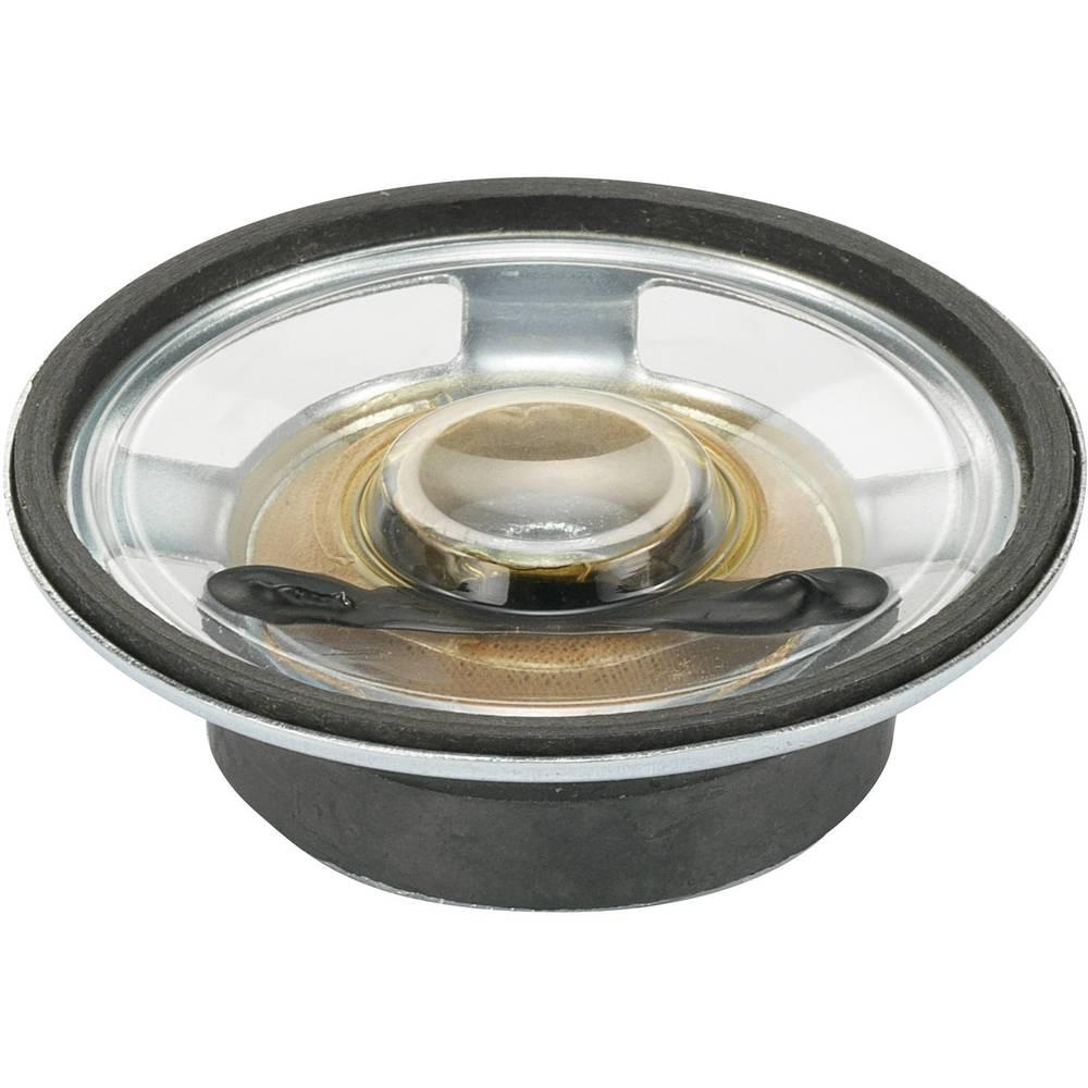 Miniaturni zvočnik, nepremočljiv, zvok: 84 dB 8 Nazivna moč: 0,25 W 550 Hz Vsebina: 1 kos YD50-1-8F32M-G Conrad