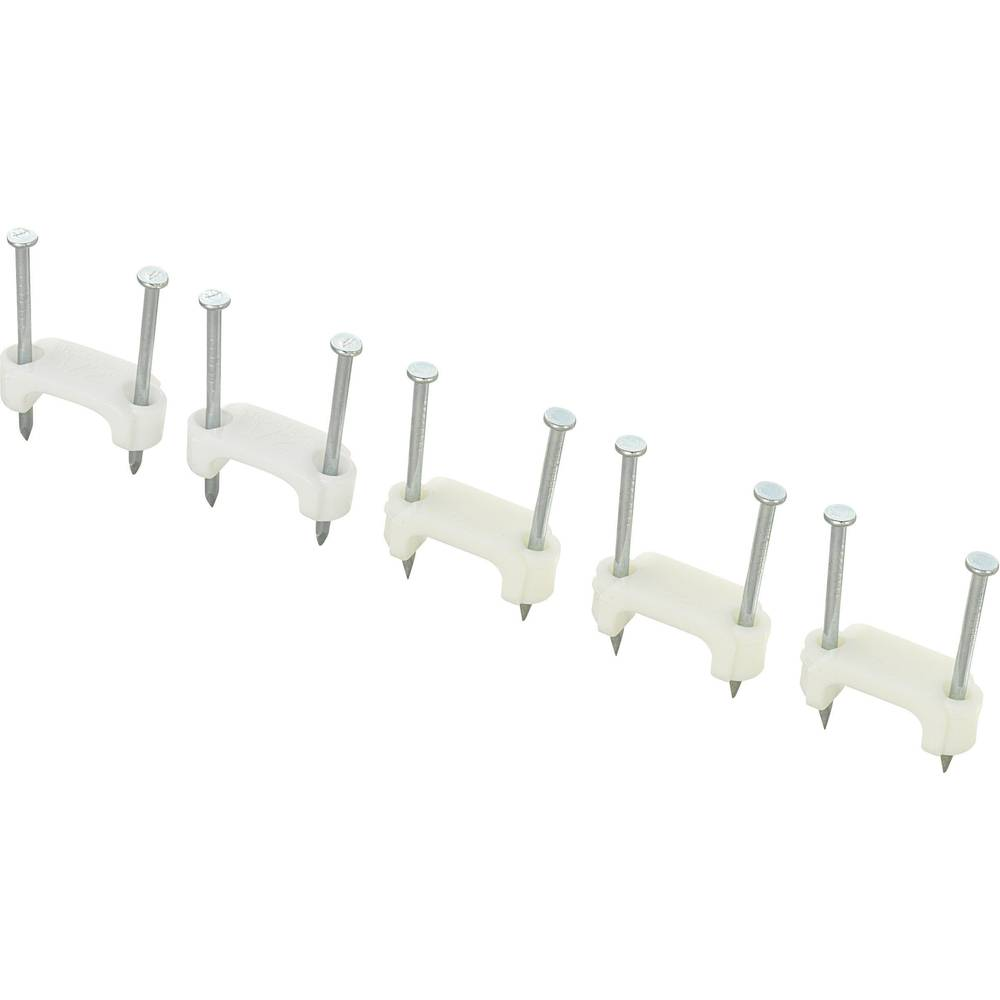 Dupla kabelska zateznica DNF13,12,5 x 5,3 mm, bijela, KSS 28530c672