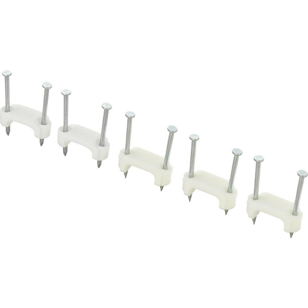 Dupla kabelska zateznica DNF17, bijela, KSS 28530c673