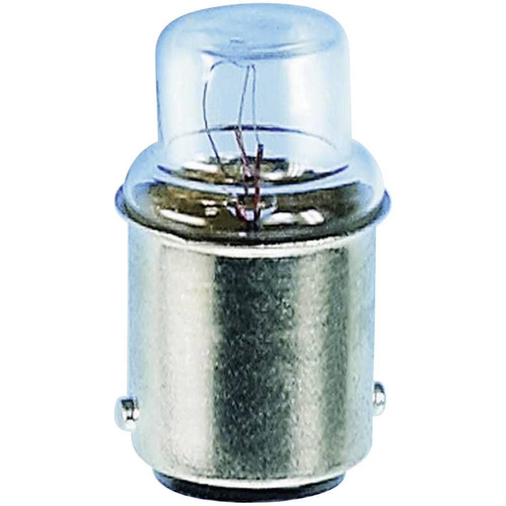 Cevasta žarnica 24 V 3 W 125 mA podnožje=BA15d jasna Barthelme vsebina: 1 kos