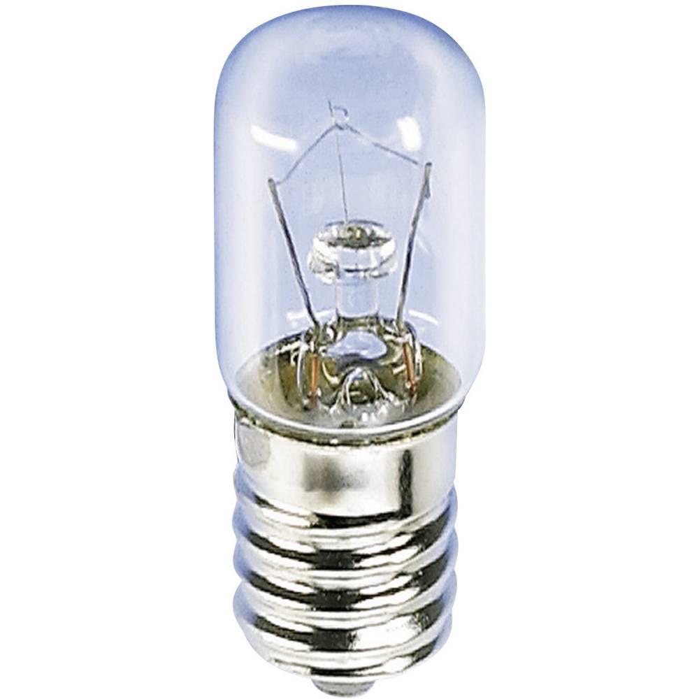 Cijevasta žarulja 60 V 10 W 166 mA podnožje=E14 čista Barthelme sadržaj: 1 kom.