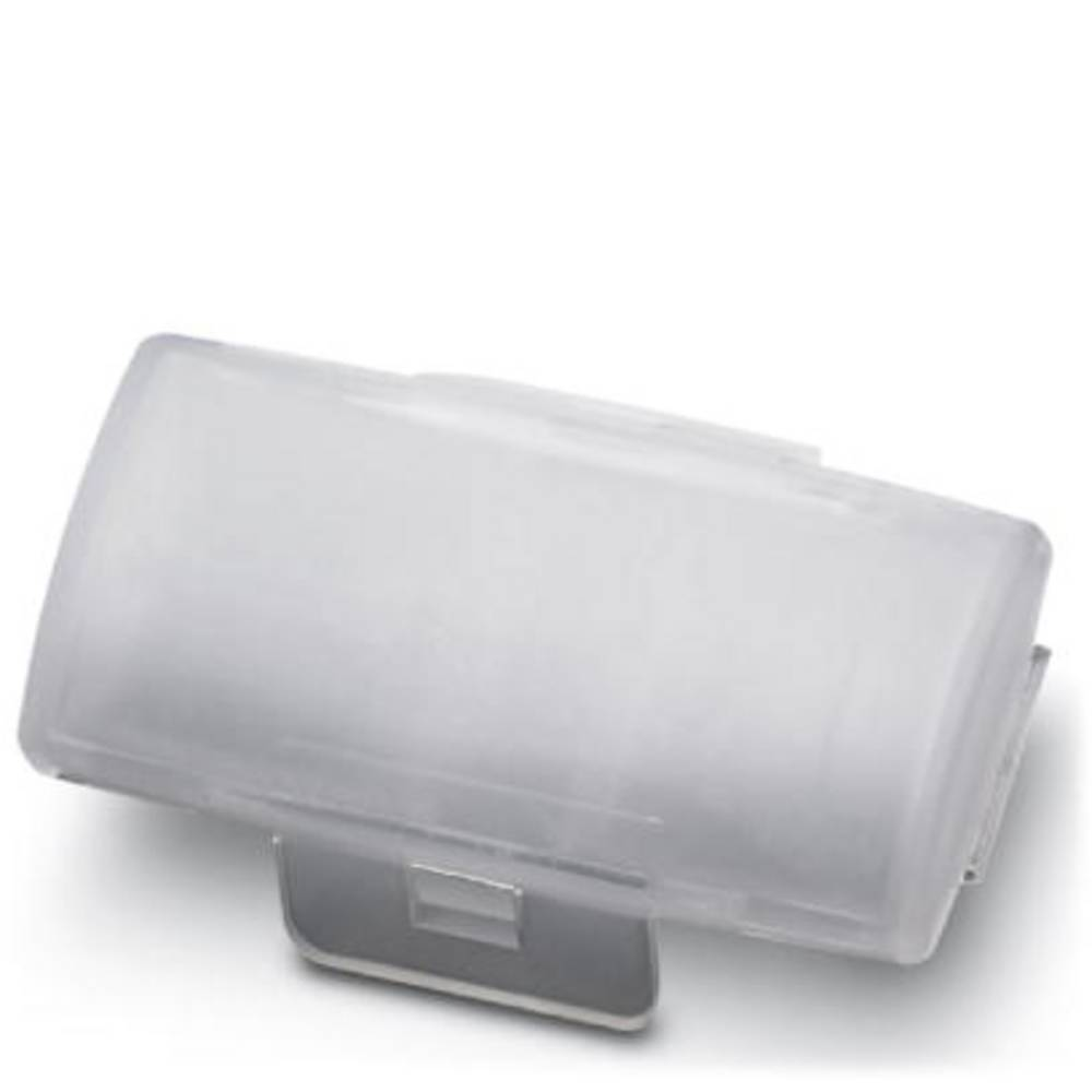 Nosilec oznak, montaža: kabelska vezica, površina: 29 x 8 mm prozorne barve Phoenix Contact KMK + ES/LP-BW 1005253 100 kosov