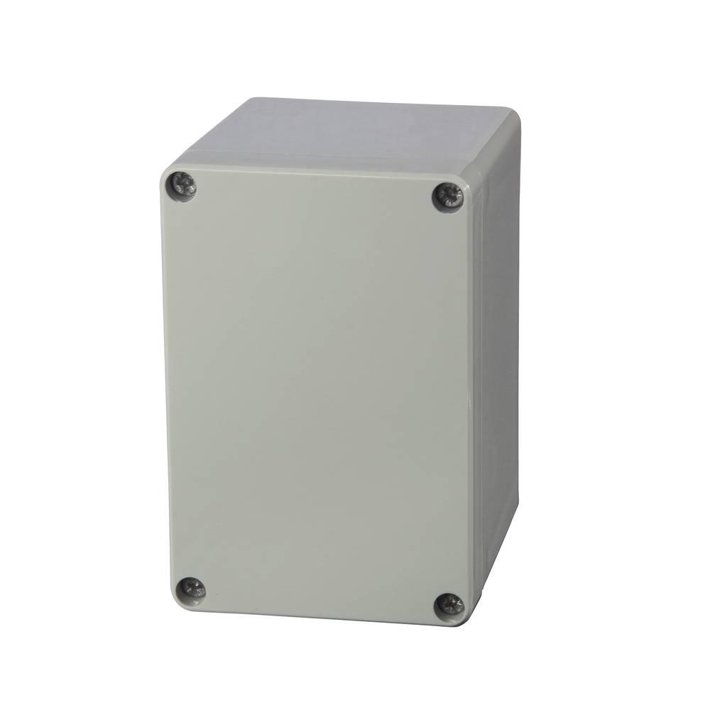Universalkabinet 80 x 120 x 90 Polycarbonat Lysegrå (RAL 7035) Fibox PC 081209H 1 stk