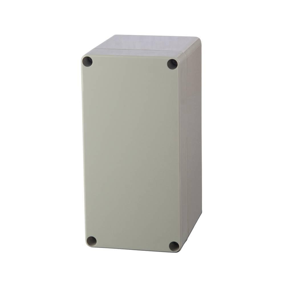 Universalkabinet 80 x 160 x 55 Polycarbonat Lysegrå (RAL 7035) Fibox PC 081606 1 stk