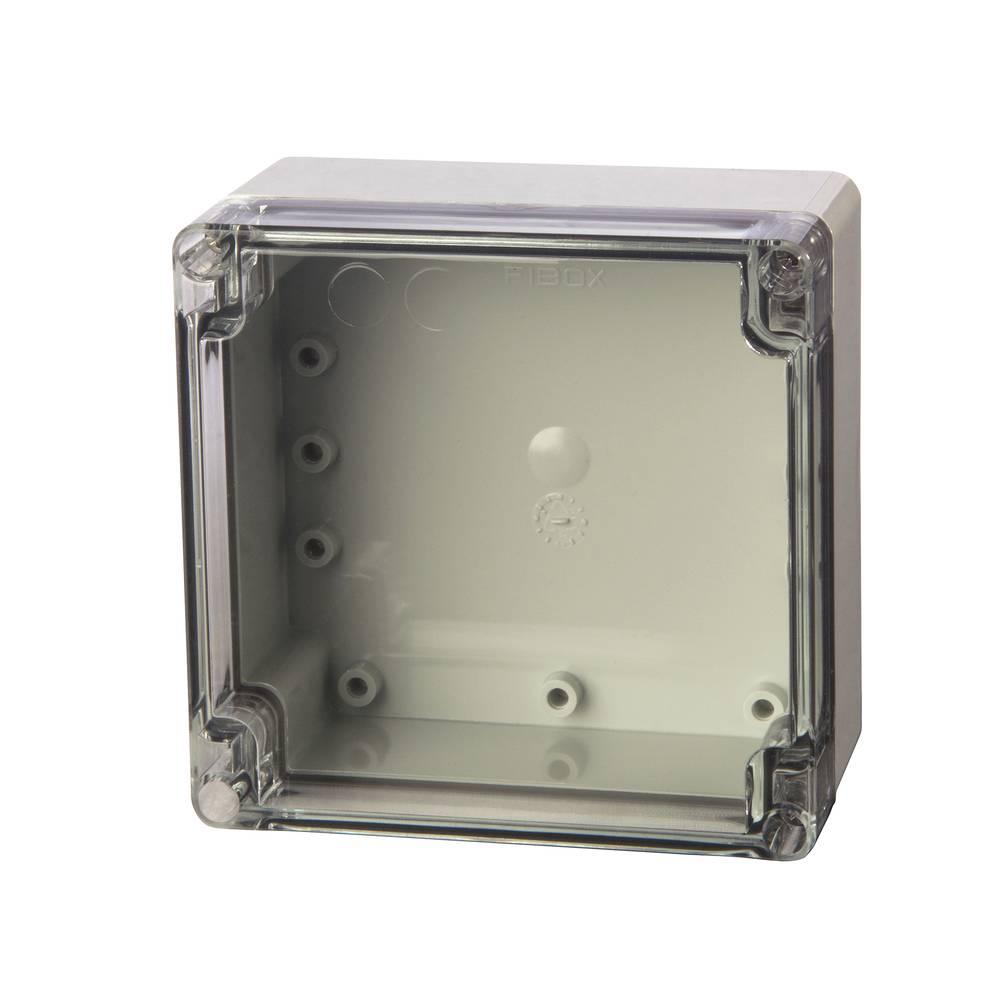 Universalkabinet 120 x 122 x 75 Polycarbonat Lysegrå (RAL 7035) Fibox PC 121208 1 stk