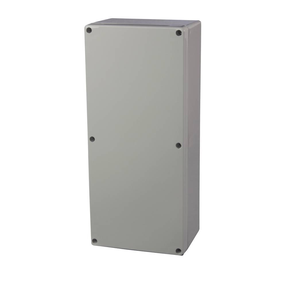 Universalkabinet 150 x 340 x 100 Polycarbonat Lysegrå (RAL 7035) Fibox PC 153410 1 stk