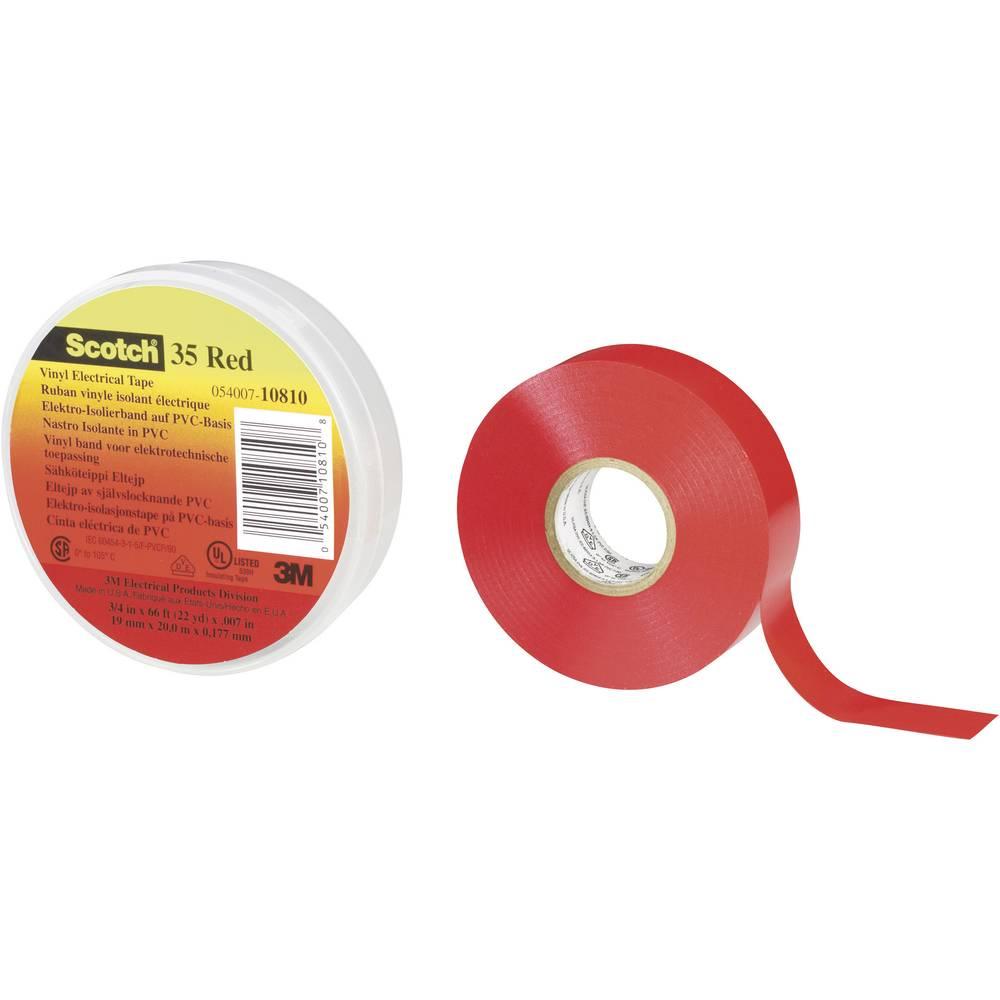 PVC Ljepljiva traka 3M Scotch35, otporna na vremenske uvjete, (D x Š ) 20 m x 19 mm, smeđa 80-6112-1161-8