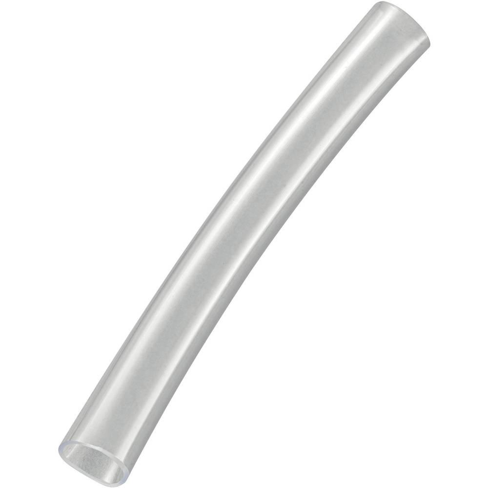 PVC-izolirna cev, notranji premer: 8 mm prozorne barve PVC080TR Conrad Components vsebuje: meterski snop