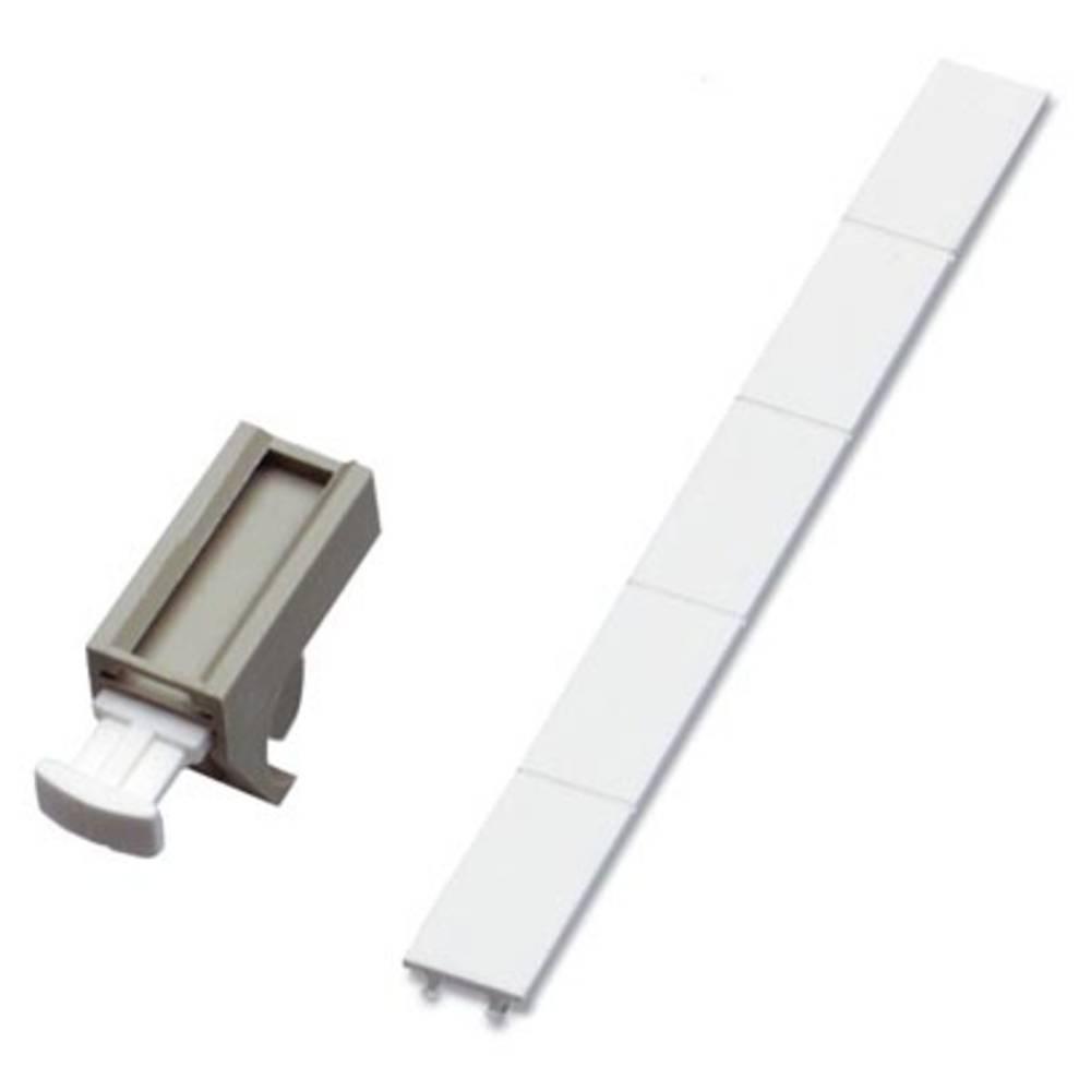 Nosilec oznak, montaža: pripenjanje, primeren za serijo posamezne žice, Phoenix Contact GKM 2 GY 1750485 100 kosov