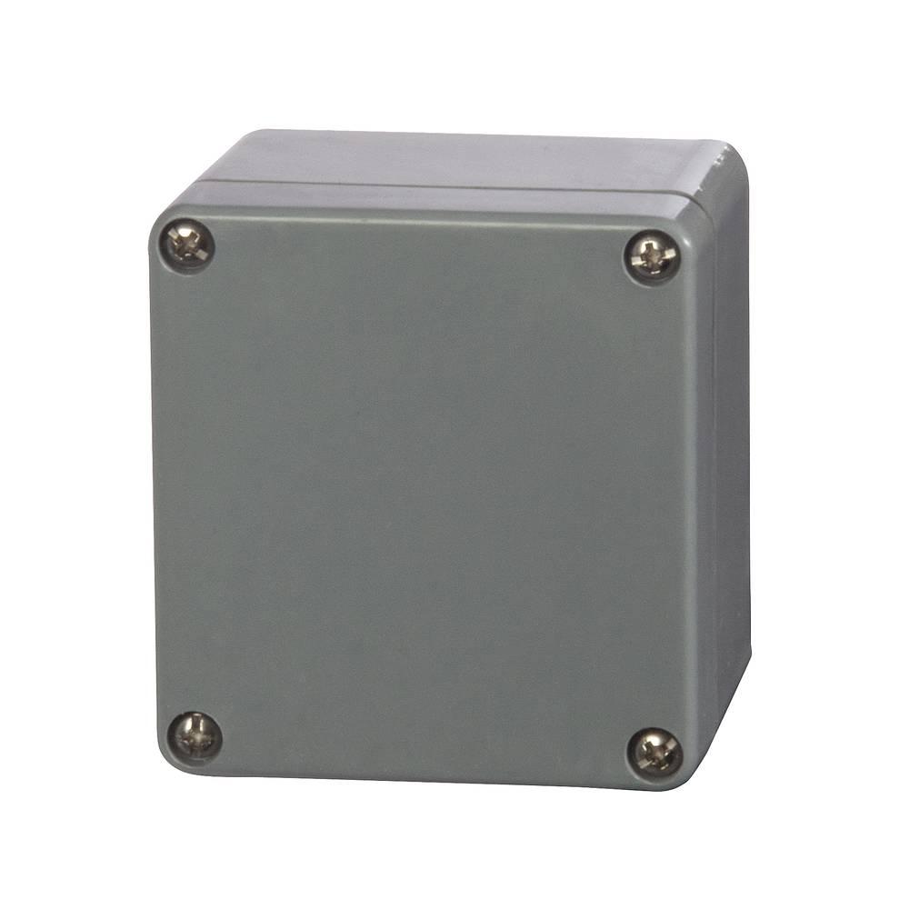 Universalkabinet 75 x 80 x 55 Polyester Sølvgrå (RAL 7001) Fibox P 080806 1 stk