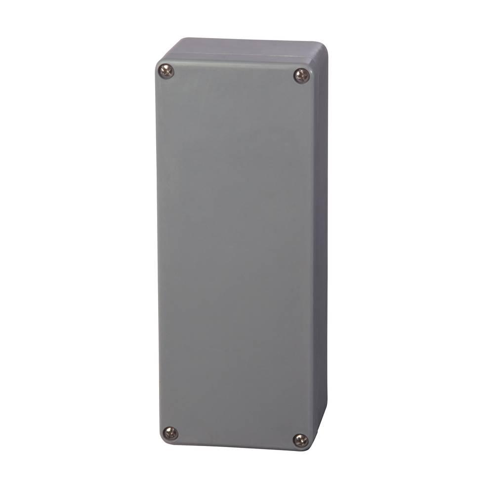 Universalkabinet 75 x 190 x 55 Polyester Sølvgrå (RAL 7001) Fibox P 081906 1 stk