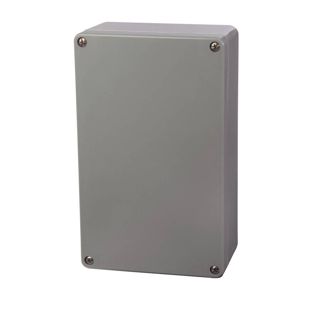 Universalkabinet 160 x 260 x 90 Polyester Sølvgrå (RAL 7001) Fibox P 162609 1 stk