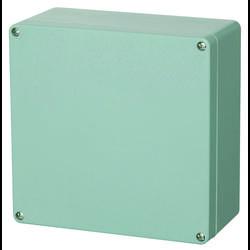 Universalkabinet 250 x 255 x 120 Polyester Sølvgrå (RAL 7001) Fibox P 252612 1 stk