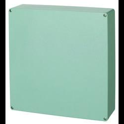 Universalkabinet 405 x 400 x 120 Polyester Sølvgrå (RAL 7001) Fibox P 404012 1 stk